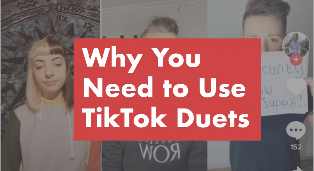 Why you need to use TikTok Duets