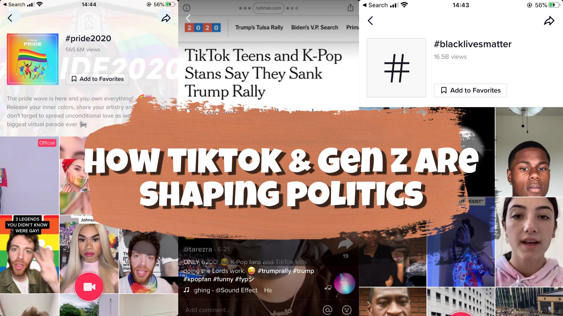 TikTok Politics & Activism: How Gen-Z and TikTok are Shaping Politics