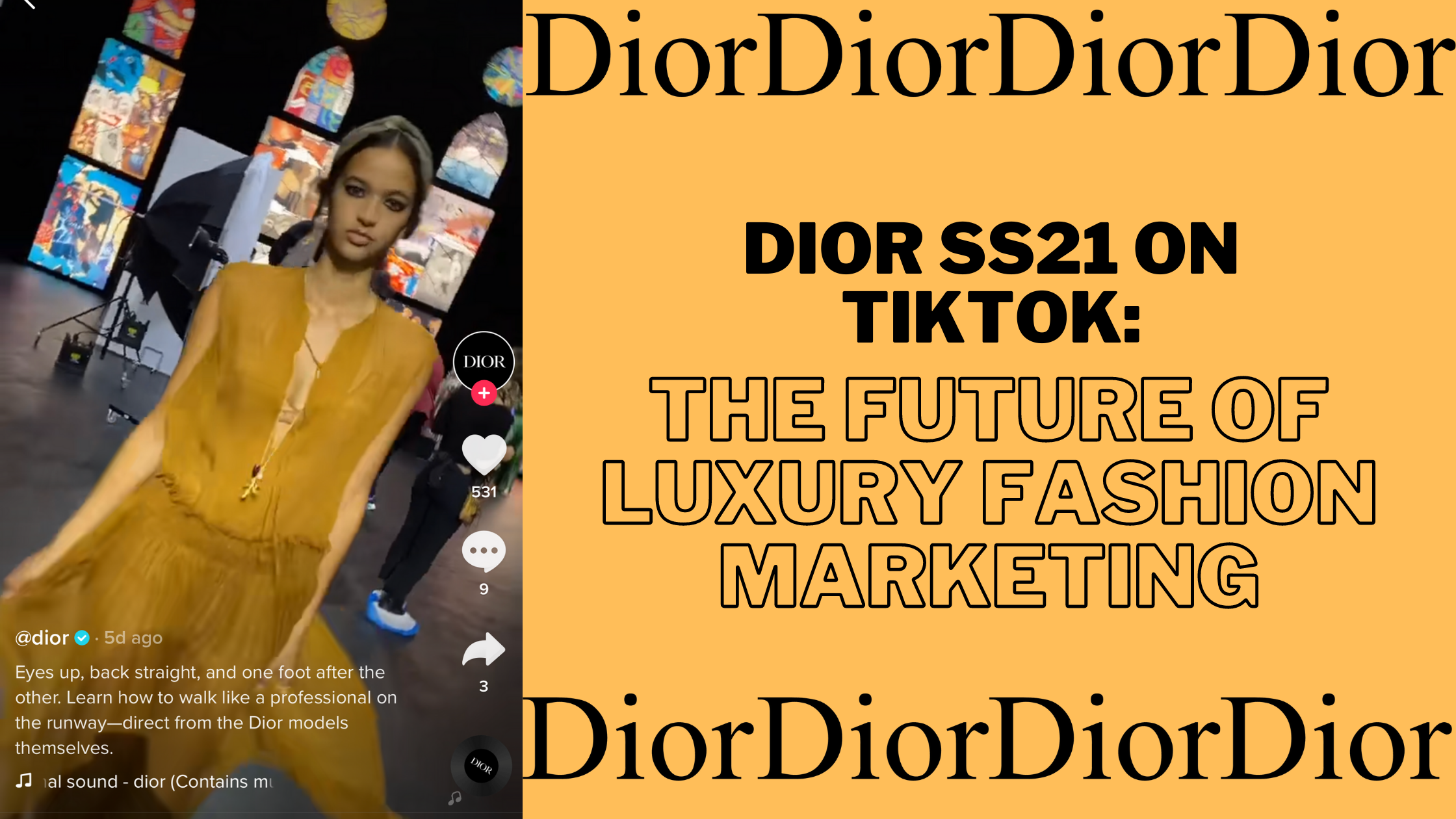 Dior Collabs With TikTok: The Future Of Luxury Fashion Marketing