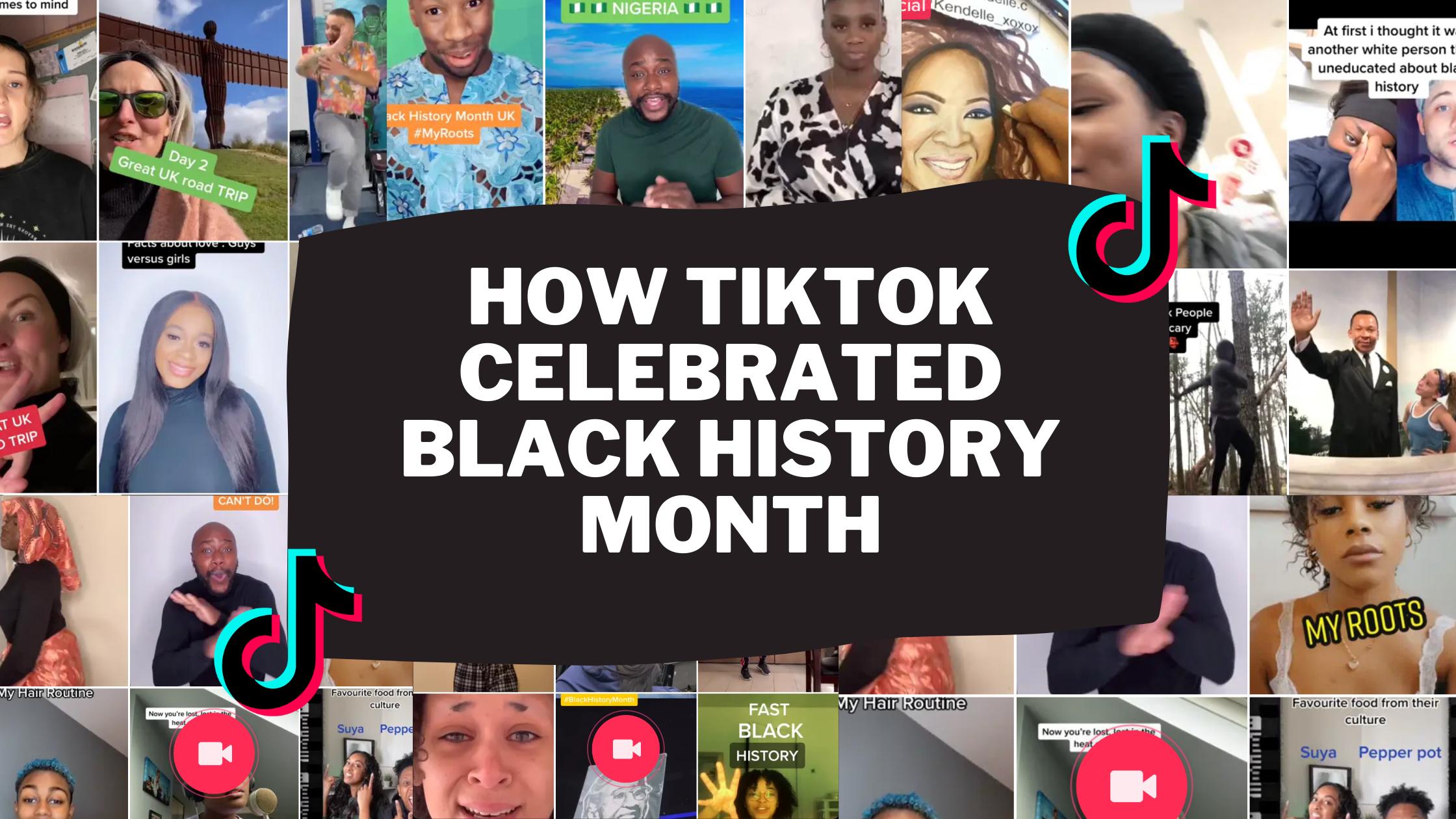 How TikTok Celebrated Black History Month