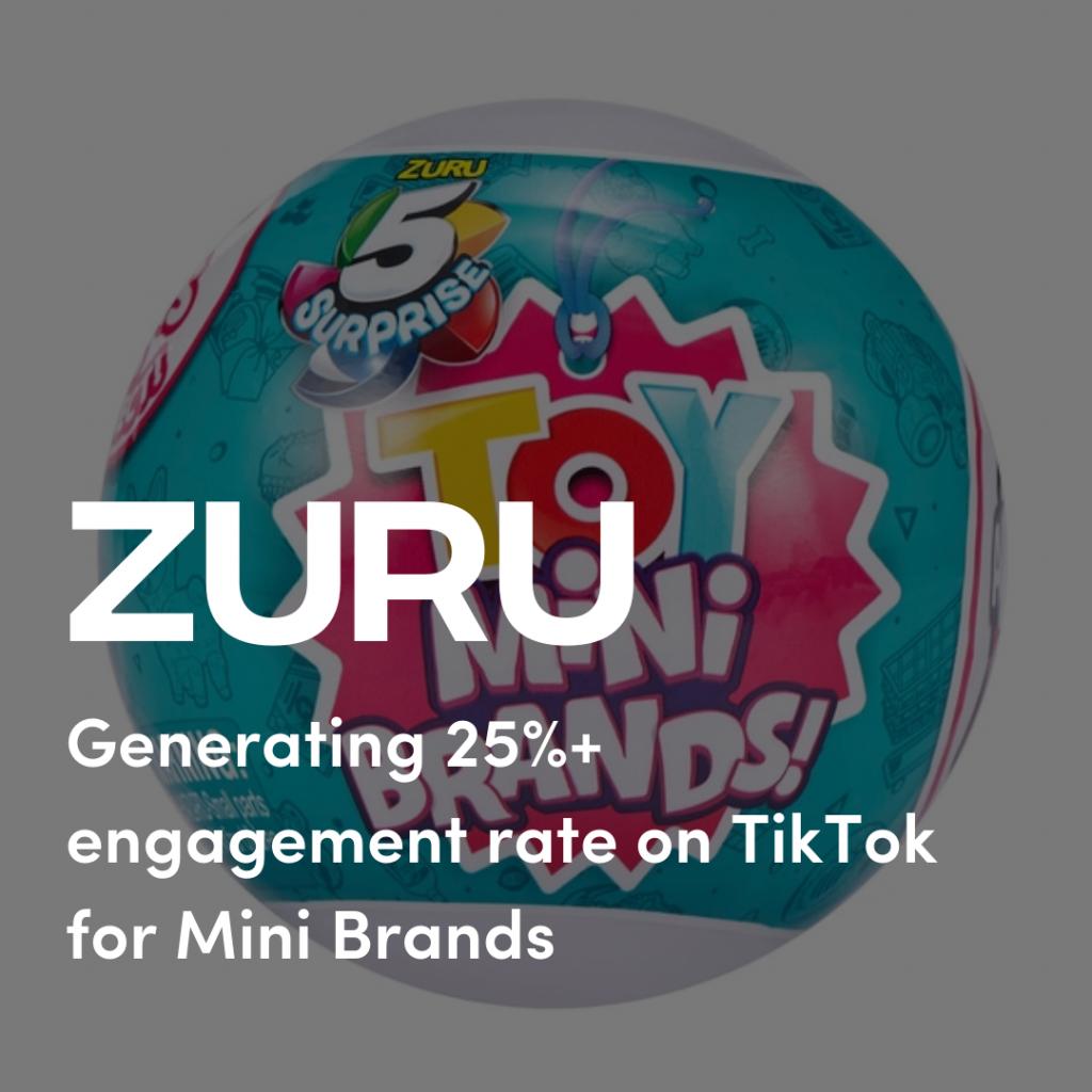Case Study: Zuru Mini Brands