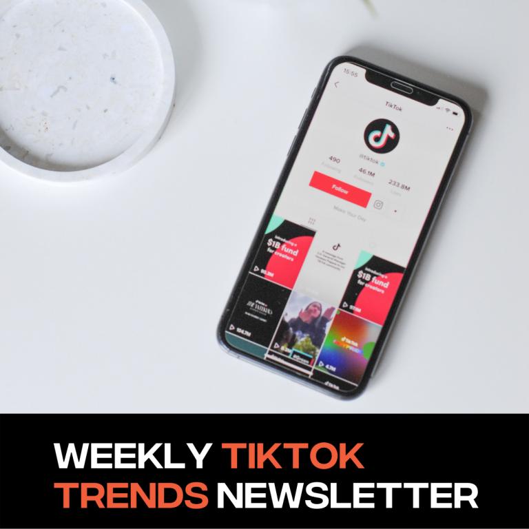Weekly TikTok Trends Newsletter